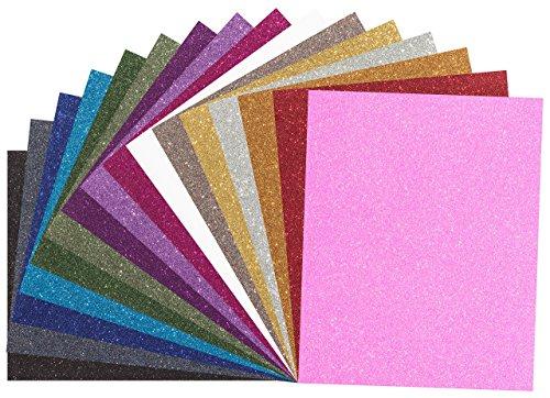 marea premium glitter heat transfer vinyl htv sheets 16 import it all. Black Bedroom Furniture Sets. Home Design Ideas