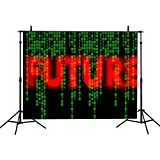 VVM 7x5Ft Science and Technology Backdrop Data Age Photography Background Future Backdrop for Pictures YouTube Background PVV068