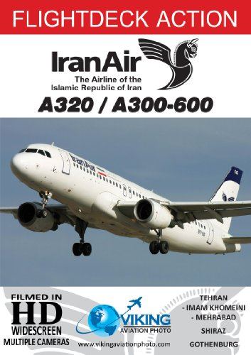 Iran Air A320 / A300-600 | Cockpit Video | Flightdeck Action