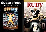 Football Drama DVD Bundle Rudy & Any Given Sunday 2-Movie Set