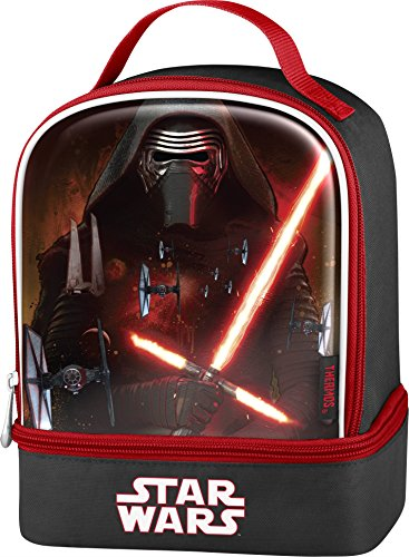 Thermos Star Wars Episode VII Dual Compartment Lunch Kit, Kylo Ren