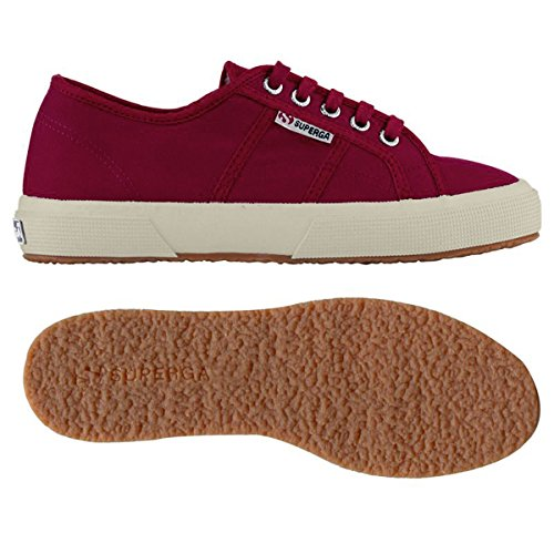 Zapatos Le Superga - 2750-plus Cotu Microfleece Bordeaux