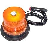 Gyrophare fixation magnétique 12/24V orange