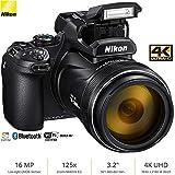 Nikon COOLPIX P1000 16MP 125x Super-Zoom Digital Camera (26522) - (Renewed)