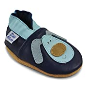 Petit Marin Beautiful Soft Leather Baby Shoes with Suede Soles – Toddler / Infant Shoes - Crib Shoes – Baby First Walking Shoes - Pre-walker Shoes - 40 Designs