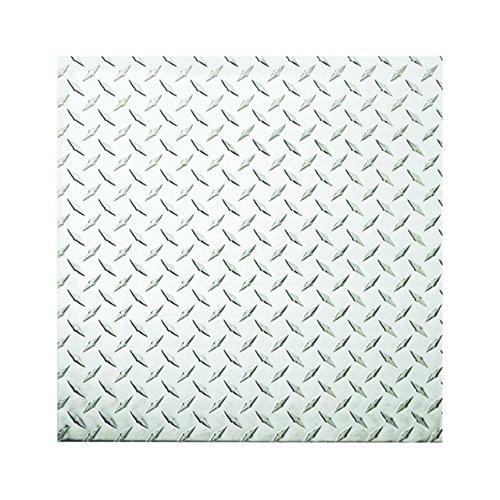 Steelworks/ Hillman 11255 Aluminum Tread Plate .063
