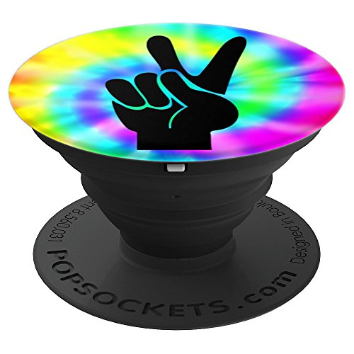 Watch Ladies Allies (Peace Sign PopSockets Grip Gift Peace Hand Tie Dye Rainbow - PopSockets Grip and Stand for Phones and Tablets)