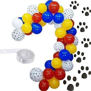 Amazon.com: PartyWoo - Globos de la Patrulla Canina, 70 ...
