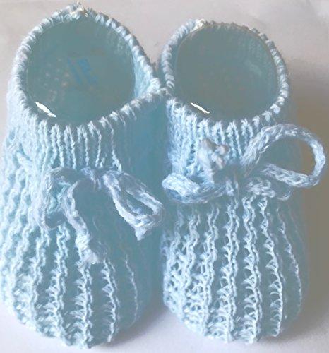 Soft Touch , Baby Jungen Krabbelschuhe & Puschen weiß weiß blau