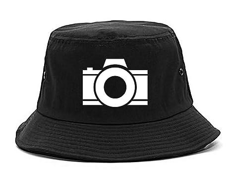 Amazon.com  Camera Photographer Chest Bucket Hat Black  Clothing 3a644ac2c51