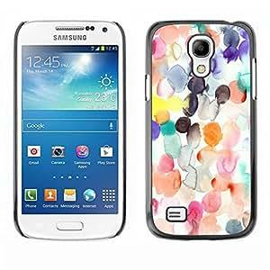 Be Good Phone Accessory // Dura Cáscara cubierta Protectora Caso Carcasa Funda de Protección para Samsung Galaxy S4 Mini i9190 MINI VERSION! // White Paper Kids Silk