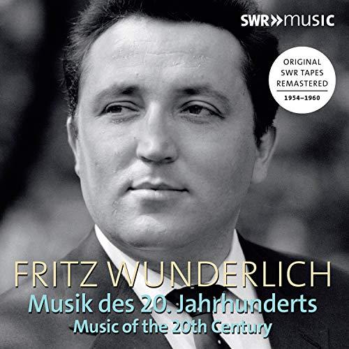 Price comparison product image Fritz Wunderlich: Musik des 20 Jahrhunderts