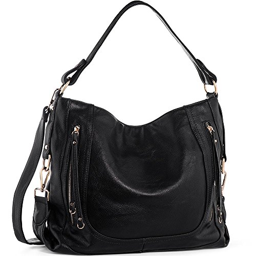 Purses For Women (UTAKE Women's Shoulder Bags PU Leather Hobo Handbags Top-Handle Purse for Ladies)