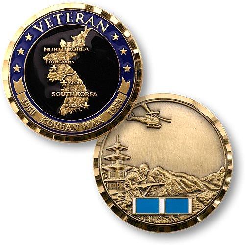 Korean War Veteran Challenge Coin
