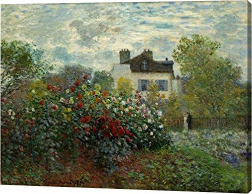The Artists Garden At Argenteuil by Claude Monet - 17