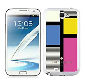 Popular Customize Samsung Galaxy Note 2 Phone Case Kate Spade Unique Cover Case For Samsung Galaxy Note 2 N7100 230 White