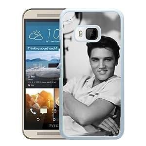 Elvis Presley 1 White High Quality Custom HTC ONE M9 Protective Phone Case