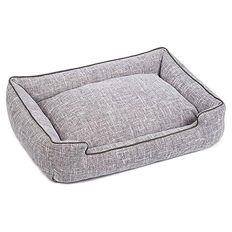 Amazon.com: Harper Gris Lounge Cama para perro, XL, gris ...