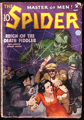 SPIDER-MAY 1935-REIGN OF THE DEATH FIDDLER VG