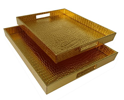 breakfast tray gold - 3