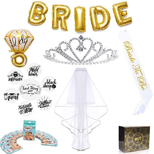 Bachelorette Party Supplies Kit Bridal Shower Favors and Decorations|