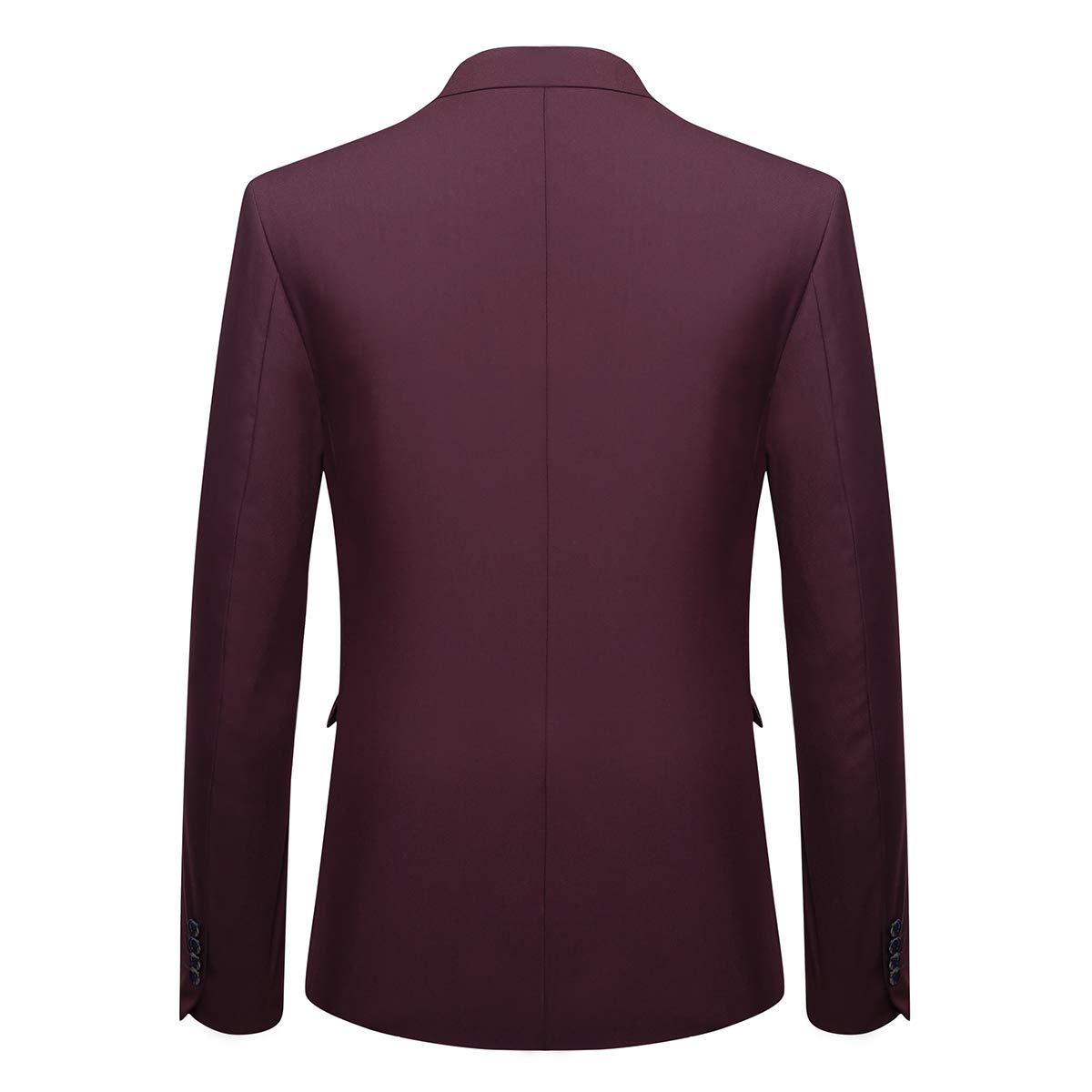 Mens One Button 2-Piece Set Wedding Dress Slim Fit Style Suit Blazer Classical Jacket for Costumes Formal