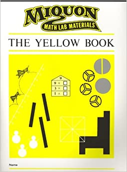 Book Yellow Book (Miquon Math Lab Materials)