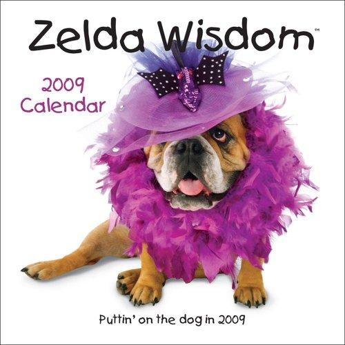Dog 2009 Mini Calendar - Zelda Wisdom?: 2009 Mini Wall Calendar