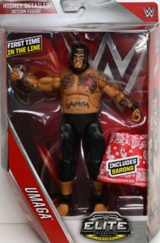 WWE Elite # 40 Umaga [parallel import goods]