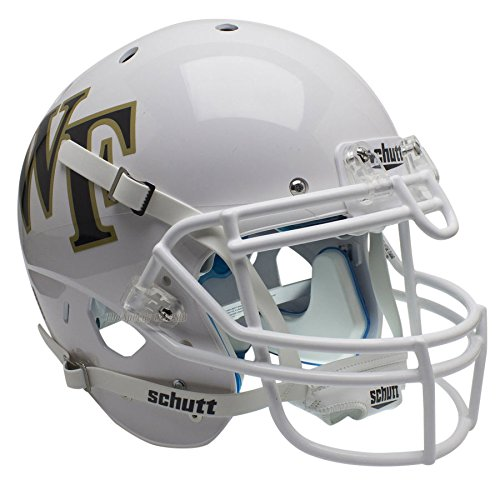 Wake Forest Demon Deacons White Officially Licensed XP Authentic Football Helmet ()