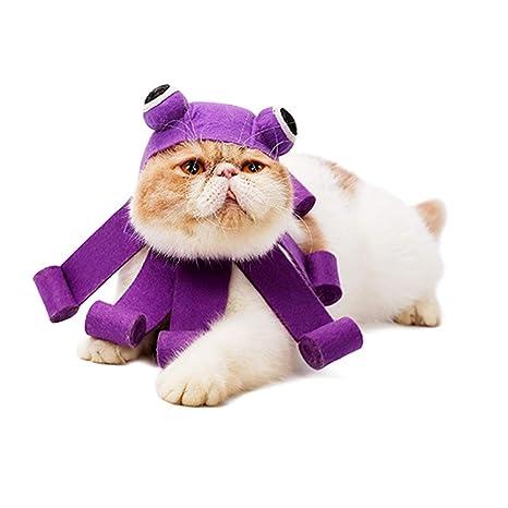 FineInno - Disfraz de Halloween para Mascotas, Gato, Diadema ...