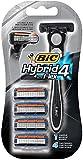 Bic Hybrid 4 Advance Disp Size 4pk Bic Hybrid 4 Advance Disp Razo 4pk