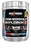 Pre Workout   Six Star PreWorkout Explosion   Pre Workout Powder for Men & Women   PreWorkout Energy Powder Drink Mix   Sports Nutrition Pre-Workout Products   Icy Rocket Freeze (30 Servings)
