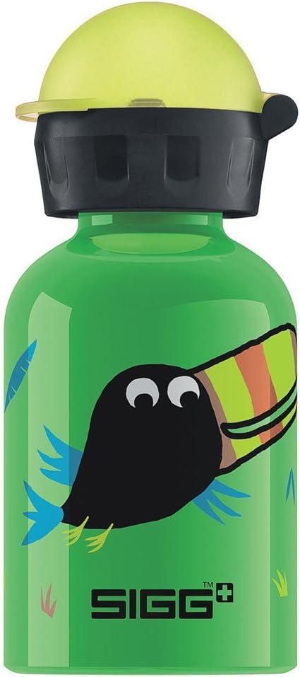Sigg Jungle Bird Water Bottle, Green, 0.3-Liter