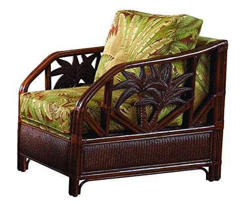 Hospitality Rattan 401-1365-TCA-C Cancun Palm Upholstered...