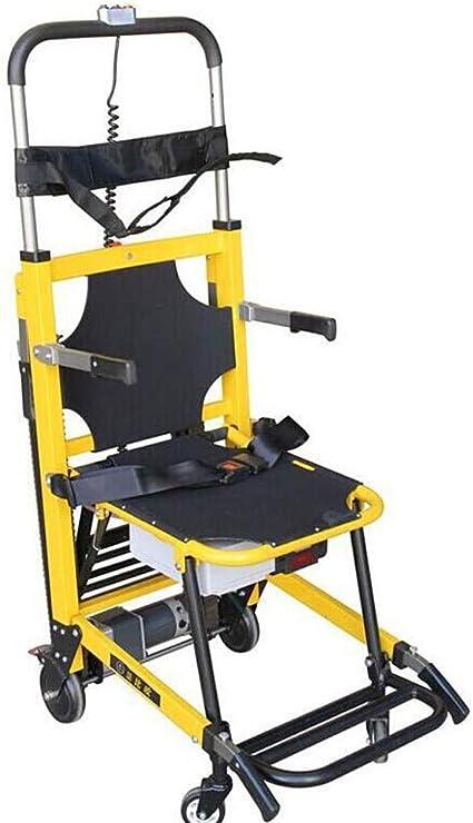 Silla Para Escaleras Elevador Para Pacientes Escalera Portaobjetos Transferencia Silla De Evacuación De Emergencia Silla Ligera Plegable De Aleación De Aluminio: Amazon.es: Belleza