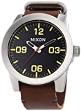 Nixon A243-1019 Mens Corporal Black Brown Watch