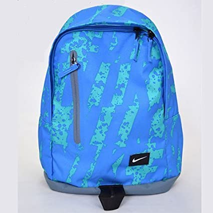 1848d5bc53 Nike All Access Halfday Backpack (Blue Green)  Amazon.in  Sports ...