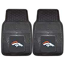FANMATS NFL Denver Broncos Vinyl Heavy Duty Car Mat