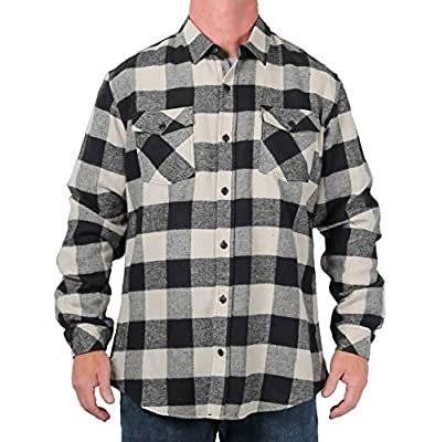 Burnside Vanguard Buffalo Plaid Flannel Shirt