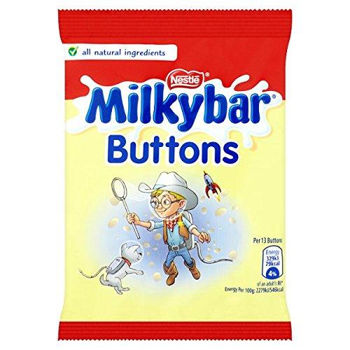 British Milky Bar Buttons - Case Of 48 x 30g