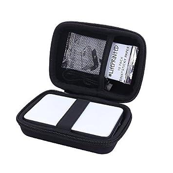 Funda Caso para Canon Zoemini Mini Impresora de Aenllosi (Negro)