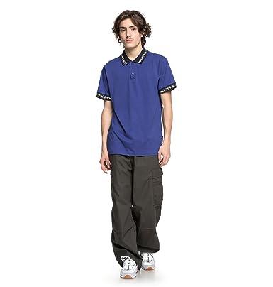 DC Shoes Dunbar - Camisa Polo - Hombre - XS: Amazon.es: Ropa y ...