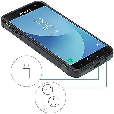 f1e75caf582 Epxee Funda Samsung Galaxy J5 2017, Silicona [Shock-Absorción] Case Carcasa  para. Cargando imágenes... Atrás. Pulsa ...