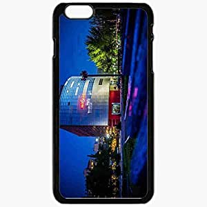 Unique Design Fashion Protective Back Cover For iPhone 6 Plus Case Slim (5.5 inch) Bishkek Kyrgyzstan Victory Square Black