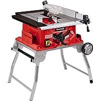 Einhell Table de sciage TE-TS 2025 UF (2000 W, 40 dents, Dimensions de la table 645x455 mm, Capot de protection de la lame, Piètement repliable, support d'accessoires)