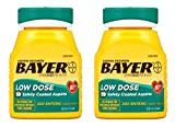 Bayer Aspirin Regimen, Low Dose (81 mg), Enteric Coated, 300 Count, 2 Pack