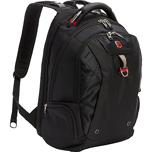 SwissGear Travel Gear Scansmart Backpack - Black / Red