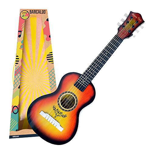 Kids Guitar with Strings - Acoustic Play Guitar Toy for Kids, Girls, and Boys by Barcaloo