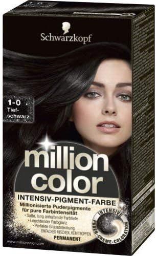 Million Color 1-0 - Tinte para el pelo, nivel 3, 126 ml ...